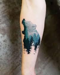 40 creative u0026 unique landscape animal tattoo designs watercolor