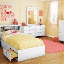 twin bed with drawers and bookcase headboard kids pottery barn bedroom with south shore spark twin storage bed