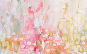 spring flower abstract textures smear paint hd wallpaper