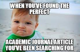 Meme Journal - journal articles sped 225 individuals with exceptionalities