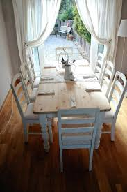 french dining rooms wonderful dining table painted cottage chic shabby white french