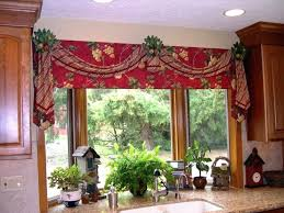 Tuscan Style Curtains Ideas Valance Tuscan Window Valance Image Of Living Room With Curtains