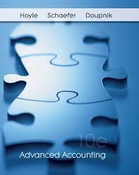 advanced accounting 10e hoyle schaefer doupnik authorstream
