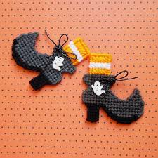 661 Best Witches Images On Pinterest Halloween Witches Plastic Canvas Spooky Boo Tique Fashion Witch Boot Magnets