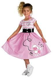 50s Halloween Costumes Kids Girls Barbie Sock Hop 50s Costume Costumes