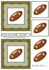rugby card toppers cup31079 28 craftsuprint