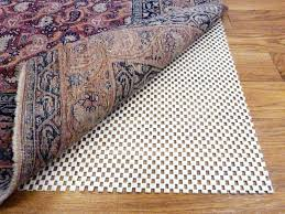 Rug On Carpet Pad What U0027s The Deal With Rug Pads Necessary Or Not The Rug Warehouse