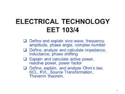 1 1 electrical