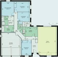 plan maison de plain pied 3 chambres plan maison plain pied 120m2 luxury plan maison plain pied 120m2 de