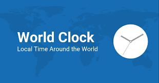 the world clock worldwide