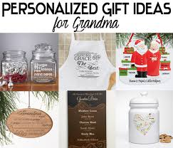 personalized christmas gift ideas for grandma holiday gift guide