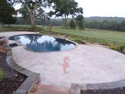concrete pool deck greenville sc unique concrete design llp