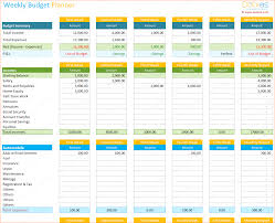 monthly budget planner template 4 budget creator procedure template sample weekly budget planner template spreadsheet dotxes
