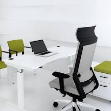 Sit Stand Desks by Elite Progress Gas Strut Height Adjustable Sit U0026 Stand Desk 1400 X