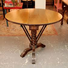 Narrow Drop Leaf Table Found In Ithaca Narrow Drop Leaf Table With Two Drawers Sold