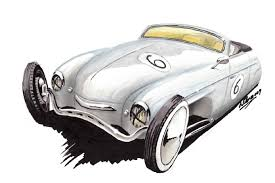 vintage cars drawings thesamba com reader u0027s rides view topic drawings of vws