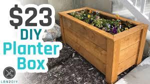 Diy Planter Box | 23 diy planter box youtube