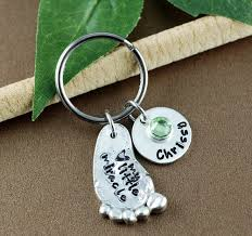 2 peas in a pod keychain baby charm bangle baby print bracelet personalized