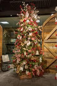 tendencia en decoracion de navidad rustica pinos 33 christmas