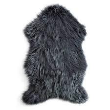 Mongolian Faux Fur Rug 60x90cm Mongolian Faux Fur Floor Rug Pink By Bianca