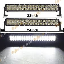 24 inch led light bar offroad eyourlife 22 inch light bar off road led light bar 120w work light