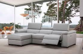 italian leather power recliner sectional sofa nj alda leather