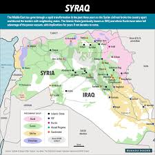 Map Of Syria Conflict by Conflict In Syria And Iraq Map