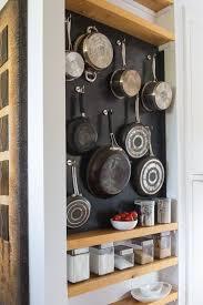 Kitchen Storage Ideas Pictures Best 25 Pan Storage Ideas On Pinterest Pan Organization