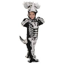 Halloween Costumes Dinosaur Triceratops Fossil Toddler Childs Extinct Dead Dinosaur Halloween