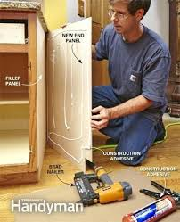 install cabinets like a pro the family handyman cabinet end panel installation autocostruzione club