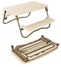 folding table with bench 1m folding table and bench combo with blow molding board and steel