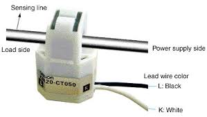 km20 power sensor wiring method and current transformer mounting
