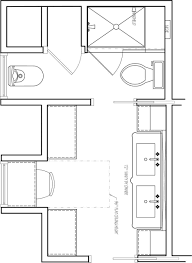 design a bathroom floor plan bathroom and shower blueprint view walk in with small half