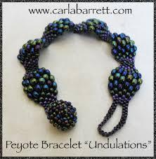 bracelet bead tutorials images Peyote bracelet tutorial undulations carla barrett jpg