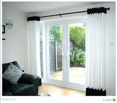 Curtains For Sliding Door Curtains For Large Patio Doors Curtain Ideas For Patio