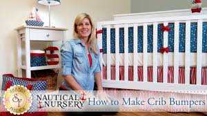Baby Crib Bumpers How To Make Crib Bumpers With Jennifer Bosworth Of Shabby