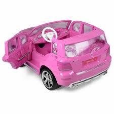 pink mercedes disney princess mercedes 12v ride on kids car pink girls toys ebay