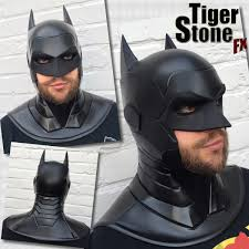 batman armored new 52 inspired cowl comes as 1 piece but can also