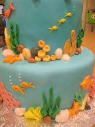 baby shower cakes underwater theme baby shower diy