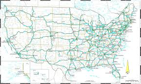 Driving Map Of America by The United States Of America During 2014 All 50 Were Map
