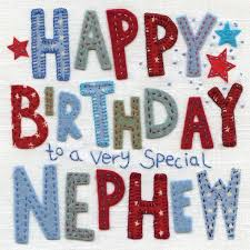 birthday cards for nephew birthday card with special nephew message cubecure