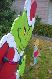 the grinch in 3d yard yard made by de yard