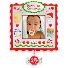 baby s photo holder 2010 hallmark