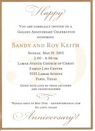 Wedding Invitation Sayings 50th Wedding Anniversary Invitation Wording Badbrya Com