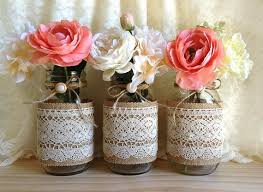 jar vases becka s bridal shower jar centerpieces sconnie