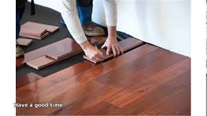 Install Laminate Flooring Yourself Installing Hardwood Floors Yourself Youtube