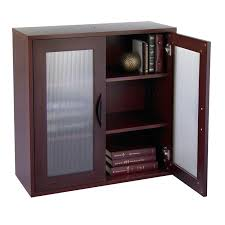 3 Shelf Bookcase With Doors Modular 3 Shelf Bookcase With See Thru Doors Ultimate Office