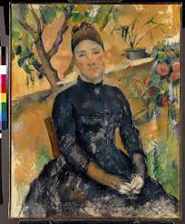 Madame Cezanne In A Red Armchair Cézanne U0027s Portraits The Human Face Of Masterly Painting Société