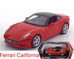 toy ferrari model cars amazon com ferrari california t closed top red 1 18 diecast
