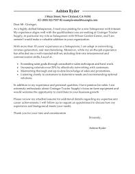 Best Resume Qualities by Best Salesperson Cover Letter Examples Livecareer